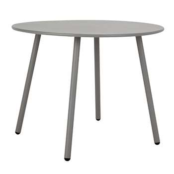 Argos Home Ipanema Round 4 Seater Garden Table - Grey (H71 x W95 x D95cm)