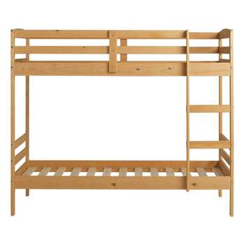 Argos Home Josie Pine Single Bunk Bed Frame (H154.6 x W103.3 x D195cm)