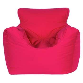 Argos Home Kids Funzee Pink Beanbag Chair (H55 x W62 x D62cm)
