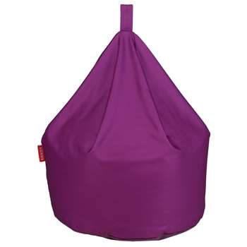 Argos Home Large Beanbag - Grape (H80 x W60 x D60cm)