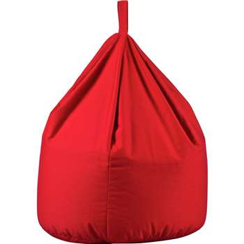 Argos Home Large Beanbag - Poppy Red (H80 x W60 x D60cm)
