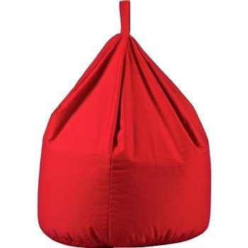Argos Home Large Beanbag - Poppy Red (H80 x W60 x D60cm)