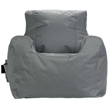 Argos Home Large Grey Teenager Beanbag (H70 x W65 x D65cm)