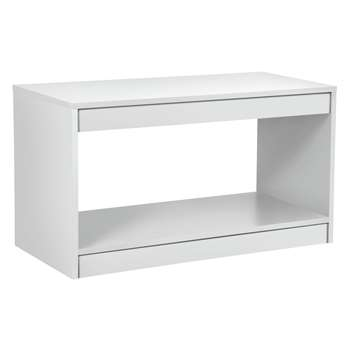 Argos Home Maine Coffee Table - White (H45 x W80 x D40cm)
