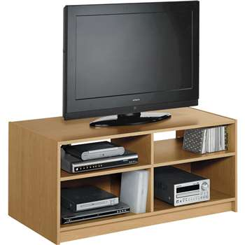Argos Home Maine TV Unit - Oak Effect (H46 x W103 x D50cm)