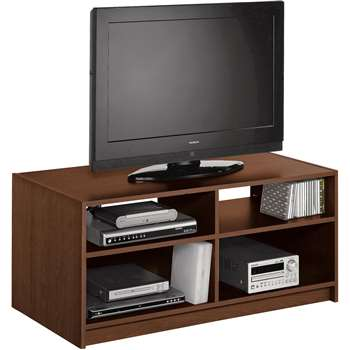 Argos Home Maine TV Unit - Walnut Effect (H46 x W103 x D50cm)