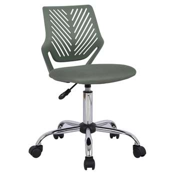 Argos Home Plastic Gas Lift Chair - Green (H88.5 x W42 x D46.5cm)