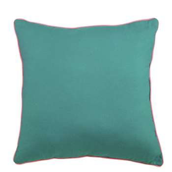 Argos Home Rainforest Green Scatter Cushion (H48 x W48cm)