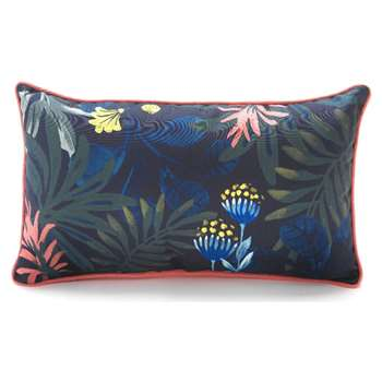 Argos Home Rainforest Long Floral Outdoor Cushion (H30 x W55cm)