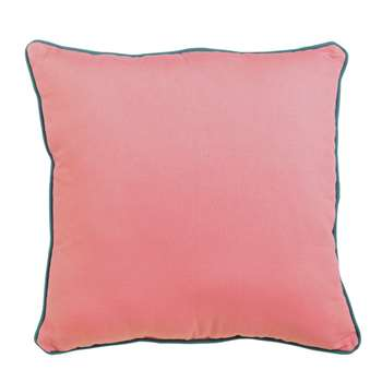 Argos Home Rainforest Scatter Cushion - Pink (H48 x W48cm)