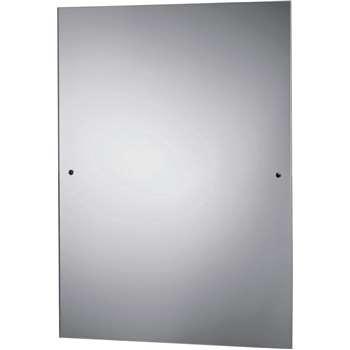 Argos Home - Rectangular Bathroom Mirror - Silver (H60 x W45 x D0.5cm)