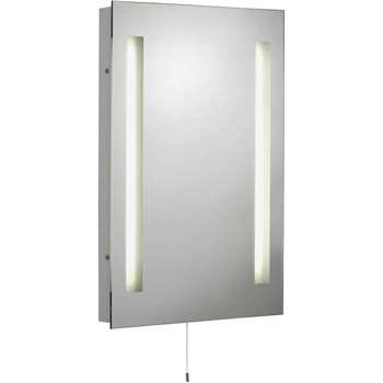 Argos Home Rectangular Bathroom Mirror with Shaver Point (H50 x W39 x D5cm)