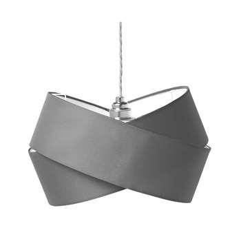 Argos Home Ribbon Shade - Flint Grey (H20 x W31.5 x D31.5cm)