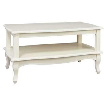 Argos Home Serenity Coffee Table - Off-White (H45 x W90 x D50cm)