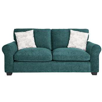 Argos Home Tammy Fabric Chair and 3 Seater Sofa - Teal