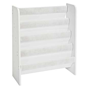 Argos Home White Book Tidy (H74 x W63 x D23.5cm)