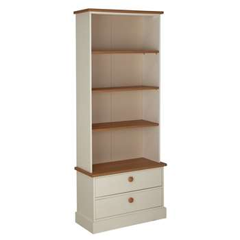 Argos Home Winchester Bookcase and Display Cabinet - White (H182.5 x W73.3 x D32.7cm)