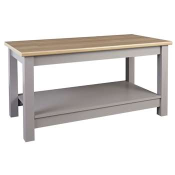 Argos Home Winchester Coffee Table - Grey (H49.7 x W99.6 x D49.5cm)
