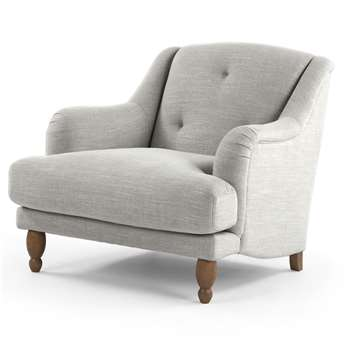 Ariana Armchair, Chic Grey (88 x 85cm)