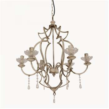 Arlington 5 Light Cage Chandelier (62 x 56cm)