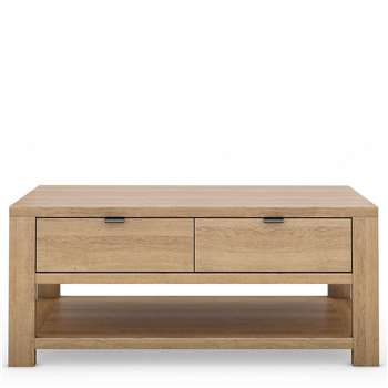 Arlo Coffee Table, Natural (H45 x W105 x D60cm)