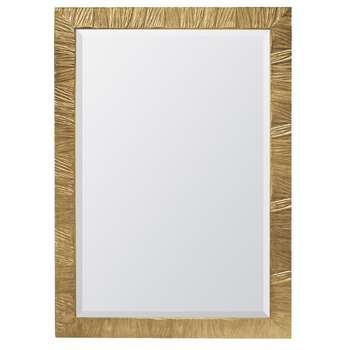 Arruga Mirror Gold (H90 x W60 x D2.5cm)