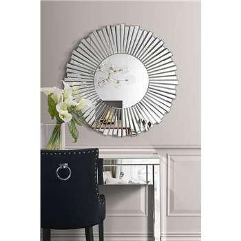 ARTEMIS Starburst Wall Mirror (90 x 90cm)