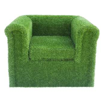 Artificial landscapes Artificial Grass Arm Chair (95 x 100cm)