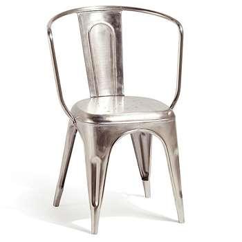 Artisan Metal Carver Chair (83 x 40cm)