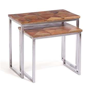 Artisan Nesting Side Tables (53 x 61cm)