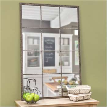 ARTOIS metal industrial mirror H 120cm