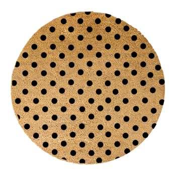 Artsy Doormats - Dots Door Mat - Round (70 x 70cm)