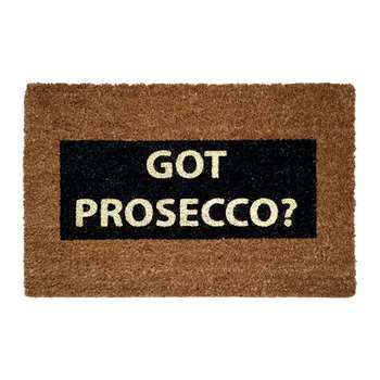 Artsy Doormats - Got Prosecco? Glitter Door Mat (40 x 60cm)