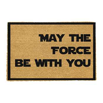 Artsy Doormats - May The Force Be With You Door Mat (H40 x W60cm)