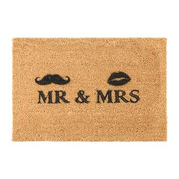 Artsy Doormats - Mr & Mrs Door Mat (40 x 60cm)