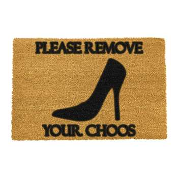 Artsy Doormats - Please Remove Your Choos Door Mat (40 x 60cm)
