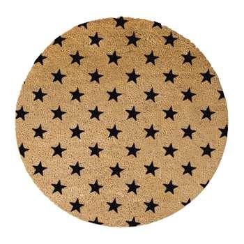 Artsy Doormats - Stars Door Mat - Round (70 x 70cm)