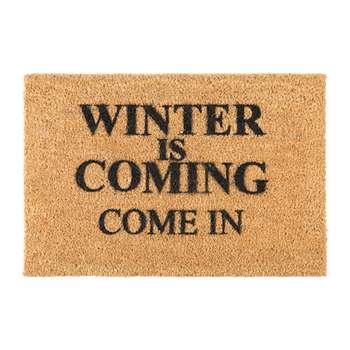 Artsy Doormats - Winter is Coming Door Mat (H40 x W60cm)