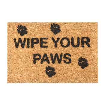 Artsy Doormats - Wipe Your Paws Door Mat (40 x 60cm)