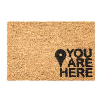 Artsy Doormats - You Are Here Door Mat (H40 x W60cm)