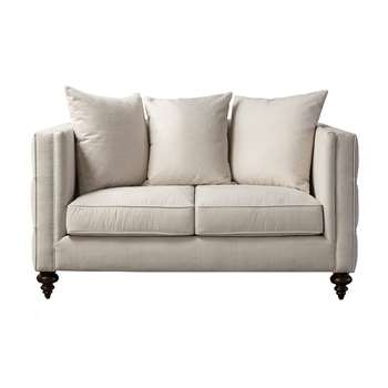 Ascot Two Seat Sofa – Calico (H80 x W160 x D92cm)