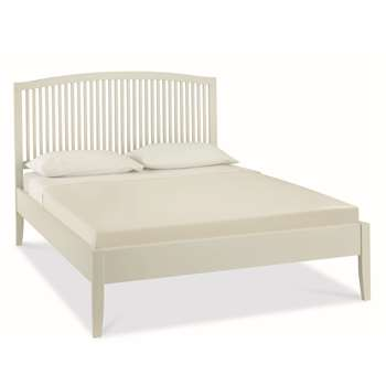 Ashlyn Cotton Painted King Size Bed Frame (H118 x W145 x D199cm)