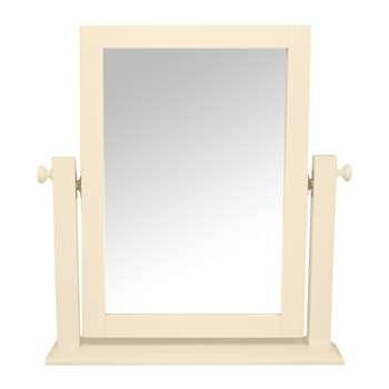 Ashwell Ivory Dressing Table Mirror (H60 x W54 x D12cm)
