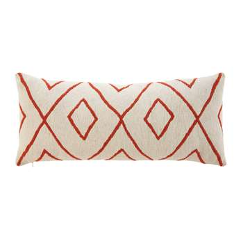 ASOKE Outdoor Cushion with Graphic Motifs (25 x 60cm)