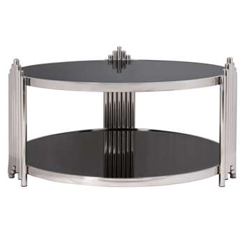 Chrysler Coffee Table (H45 x W90 x D90cm)