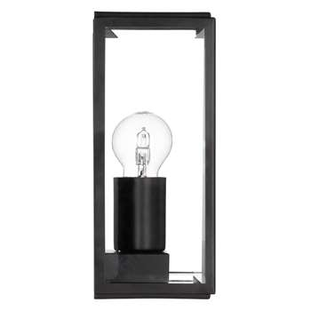 Astro Homefield Outdoor Lantern, Black (25 x 16cm)
