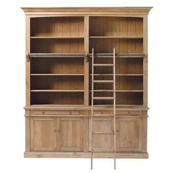ATELIER Solid oak bookcase (230 x 200cm)