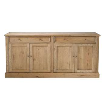 ATELIER Solid oak sideboard (H85 x W185 x D47cm)