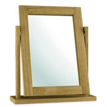 Atlanta Oak Dressing Table Mirror (H58 x W50cm)