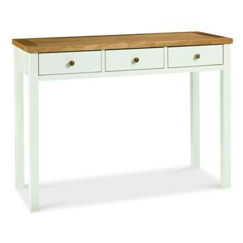 Atlanta Two Tone Dressing Table (H76 x W105 x D42cm)